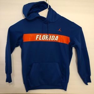 Men's Nike Air Jordan Florida Gator Hoodie Large